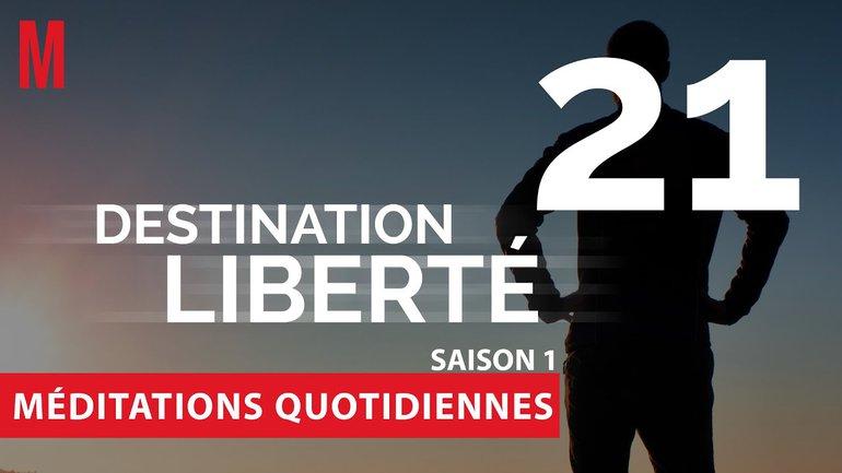 Destination Liberté (S1) Méditation 21 - Exode 14.10-14 - Église M