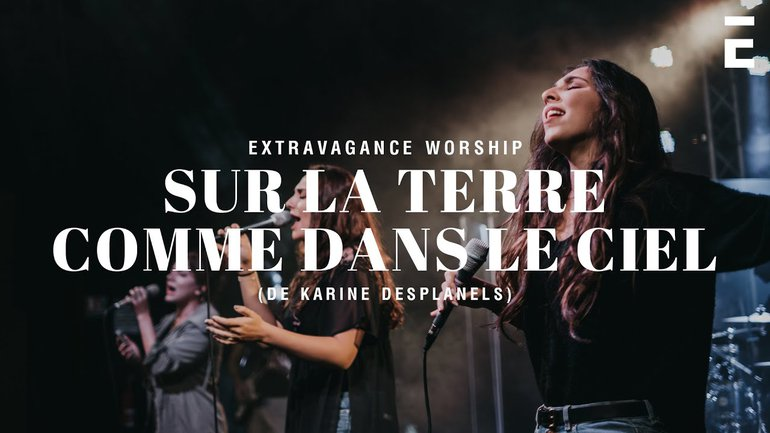 Sur La Terre Comme Dans le Ciel - Karine Desplanels - Acoustique (Feat. Lisa Picard / Extravagance)