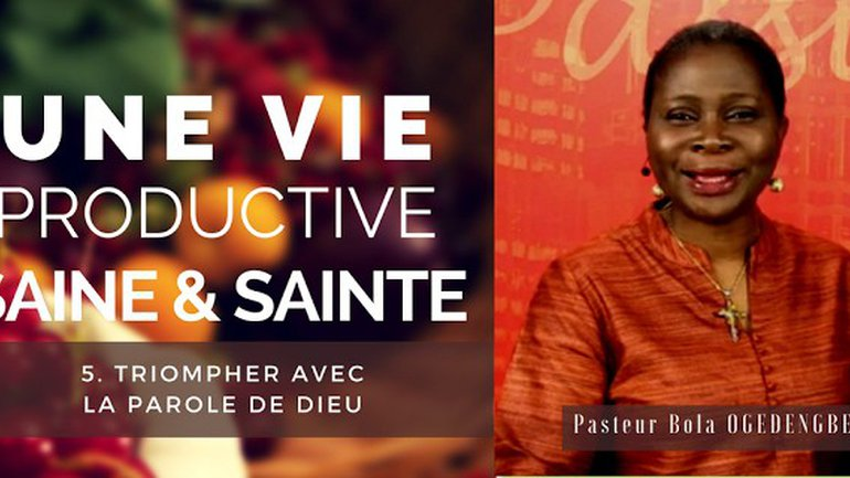 Olivia Bola Ogedengbe - Une vie productive saine et sainte (5)