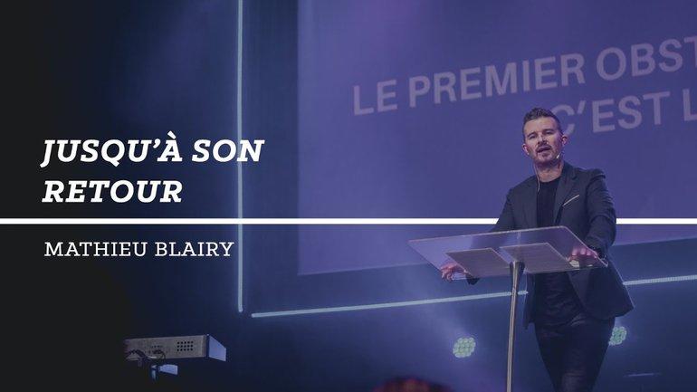 Jusqu'à son retour - Mathieu Blairy