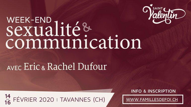 Sexualité 💞 et Communication 📣 Séminaire en Suisse avec Eric et Rachel Dufour