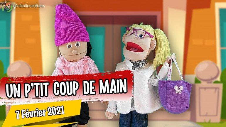 """Culte Génération Enfants du 07 février 2021 """" Un p'tit coup de main"""""""