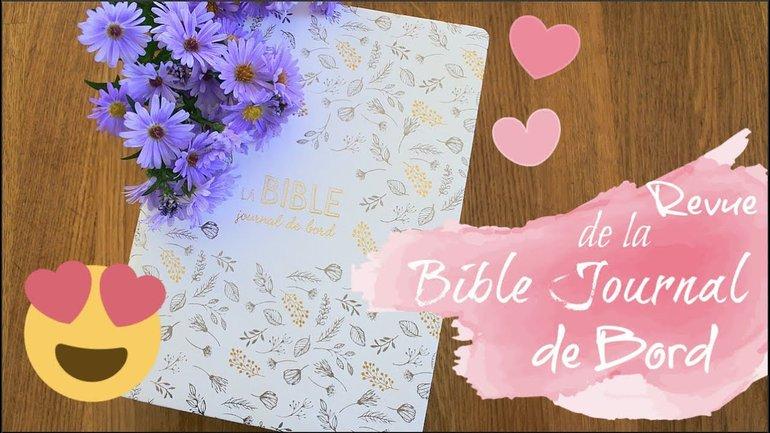 """Une BIBLE de JOURNALING en Français??!!! - La Bible """"Journal de Bord""""  de La Maison de la Bible"""