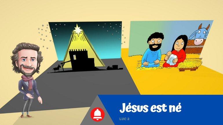 Jésus est né FR