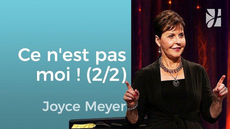 Il ne s'agit pas de moi (2/2) - Joyce Meyer - Grandir avec Dieu