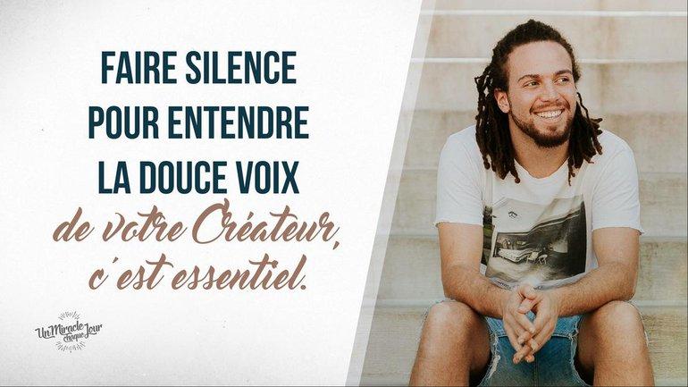 La valeur du silence
