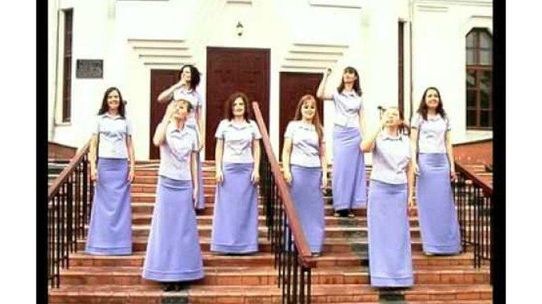 Chorale d'Odessa - На Тебя мы уповаем (Nous prions pour vous)
