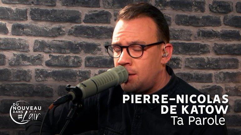 Ta parole  - Pierre Nicolas