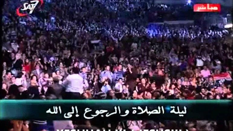 Magnifique !! Des milliers de musulmans convertis au christianisme cris le nom de Jésus