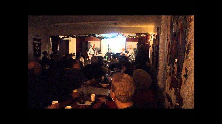Peter Shannon au Café chrétien le Phare de Montréal