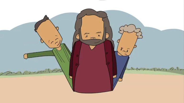 L'histoire de Dieu : Deux frères et un père