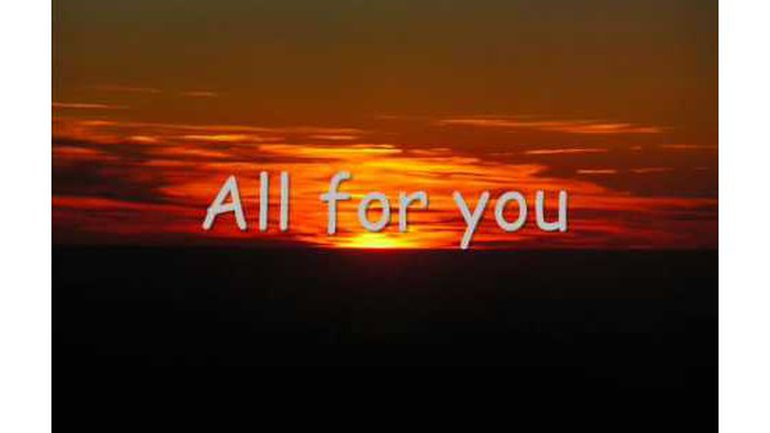 Luc Dumont - All for you