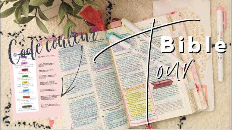 Bible Tour -Ancien Testament et mon Code Couleur
