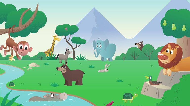 Au commencement - La Bible App pour les Enfants - Histoire 1