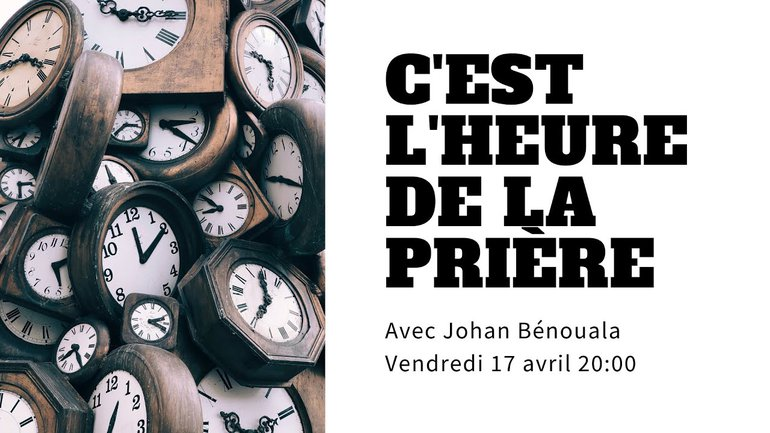 L'urgence de l'Évangile - Pasteur Johan Bénouala