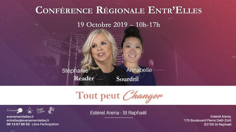 Conférence Entr'Elles - Octobre 2019 🌟 Tout peut changer