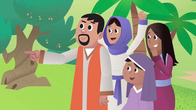 L'ânon et le Roi - La Bible App pour les Enfants - Histoire 29