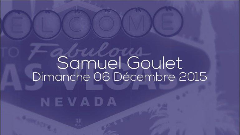 SAMUEL GOULET - L'AMOUR PARFAIT - 06/12