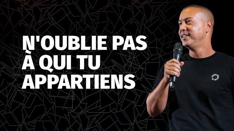 N'OUBLIE PAS  À QUI TU APPARTIENS | Stève Rivière