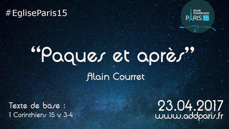 Pâques et après - Alain Courret