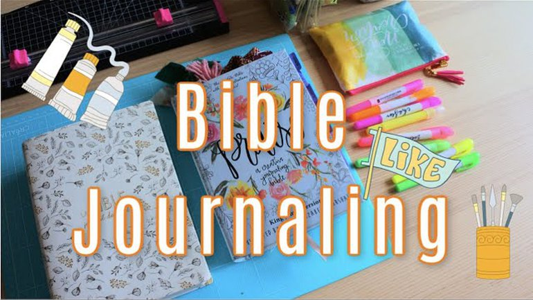 A la découverte du Bible Journaling: Le matériel