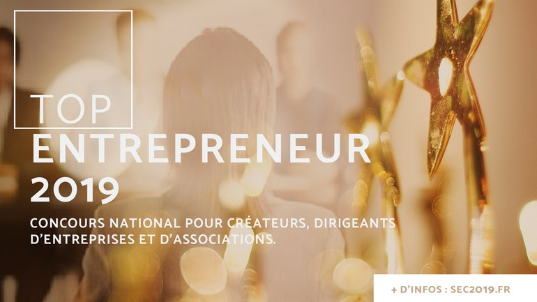 "Qui sera le ""Top Entrepreneur"" 2019 ?"