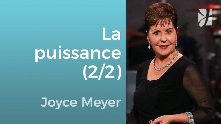 La puissance de la serviette (2/2) - Joyce Meyer - Grandir avec Dieu