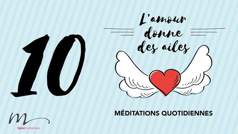 L'amour Méditation 10 - Vers qui regardons-nous ?- Hébreux 12.2 - Église M