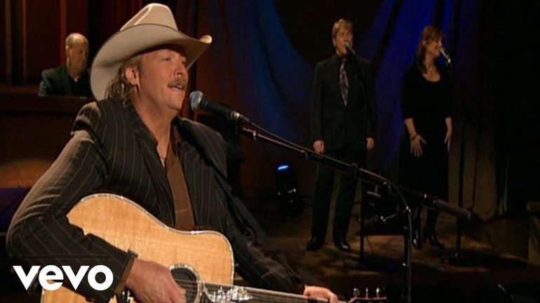 Alan Jackson - I Want To Stroll Over Heaven With You (Live)