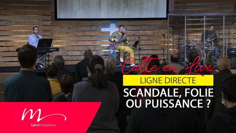 Ligne Directe #1 Scandale, Folie ou Puissance ? - Jéma Taboyan - Culte du 11 Avril 2021