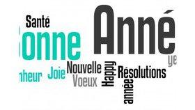 SOUHAITS POUR L'ANNEE.