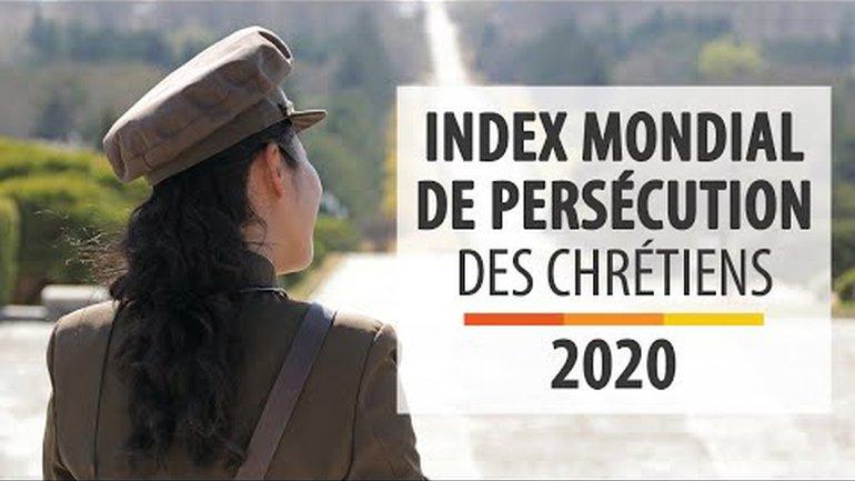 Index Mondial de Persécution des Chrétiens 2020