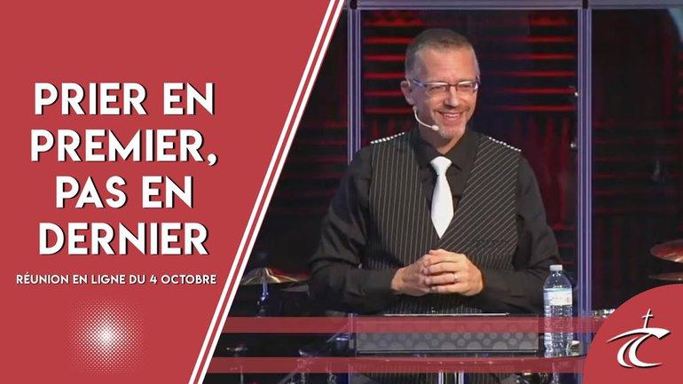 """PRIE en PREMIER, PAS en DERNIER. Réunion """"LIVE"""" du CCDM du 4 octobre"""