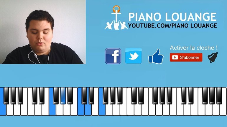 Progression d'accords Gospel N°2 en Do - PIANO LOUANGE