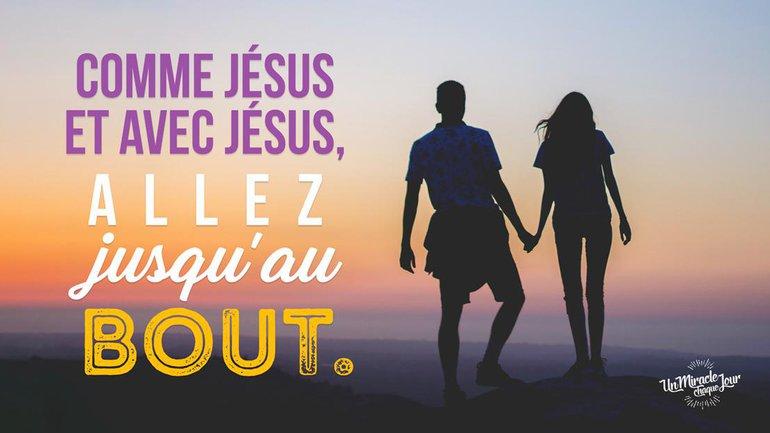 Jésus : Il ne recule devant rien ! 💪