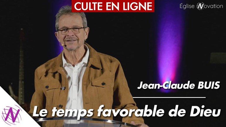 Le temps favorable de Dieu - Jean-Claude Buis - à l'Église Novation