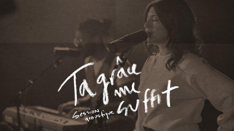 Ta grâce me suffit (session acoustique) - la Chapelle Musique, Marielly Juarez et Étienne Charles