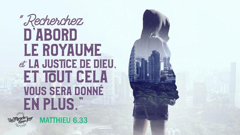 Que son règne vienne dans votre vie ! 👑