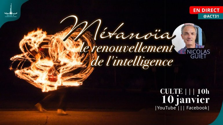 Métanoïa, le renouvellement de l'intelligence par Nicolas Guiet | ACT