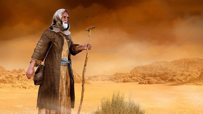 Le retour de Moïse en Egypte