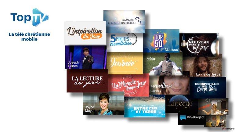 TopTV, la télé chrétienne mobile 📺