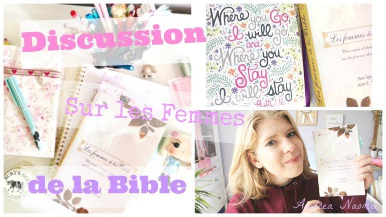 La beauté des femmes de la Bible #FDB4