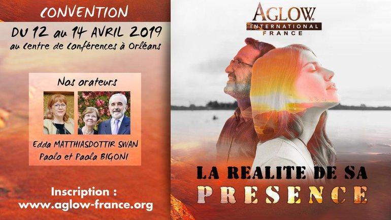 """Réservez vos places pour la conférence Aglow 2019 """"La réalité de sa présence"""""""