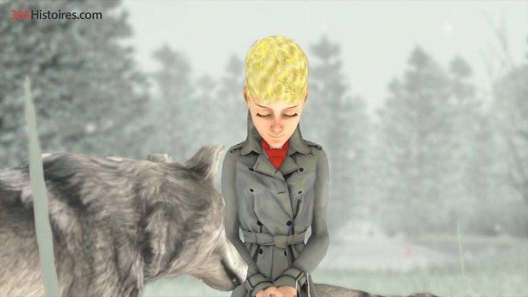 Yvan et les loups (145) Avec illustrations 3D.