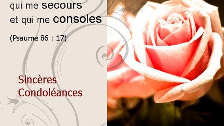 Cybercartes pour condoleances