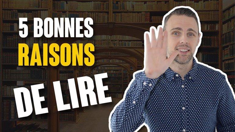 5 BONNES RAISONS DE LIRE