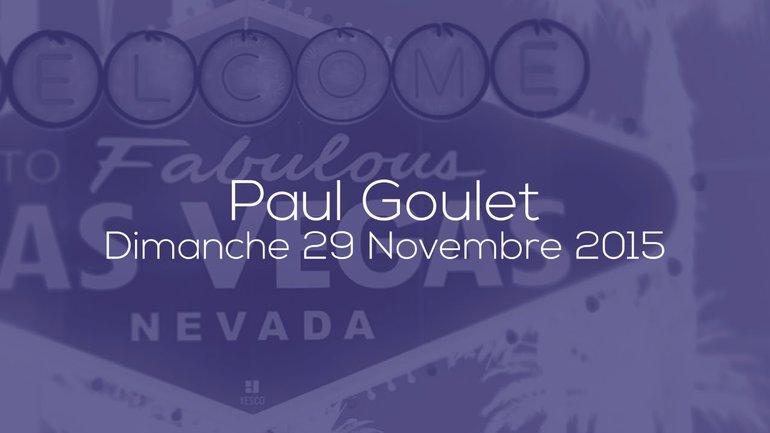 PAUL GOULET - LES QUALITÉS D'UN FABRICANT DE DISCIPLE - 29/11