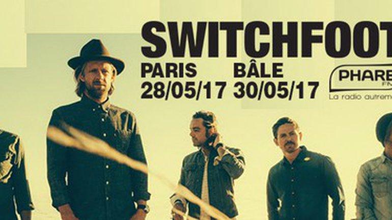 Switchfoot en concert à Paris et Bâle