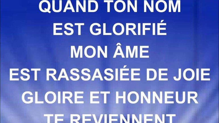 Gloire et honneur - Paul Baloche - Paroles