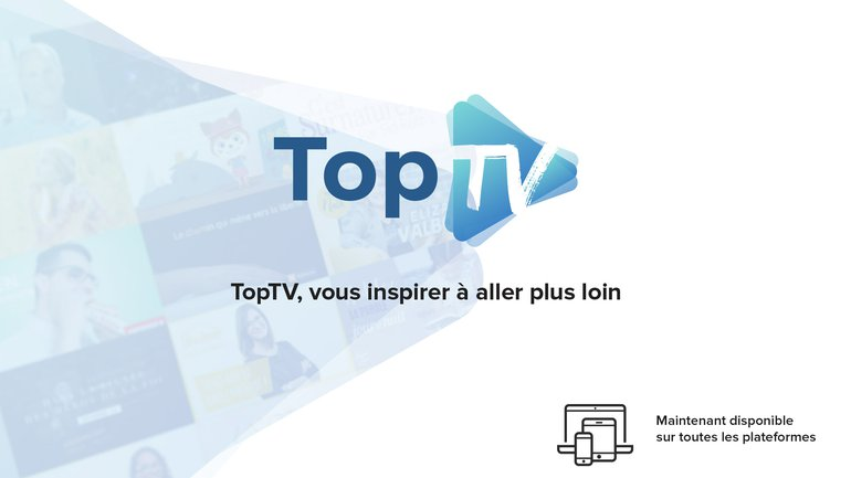 TopTV 📺 va vous inspirer à aller plus loin !